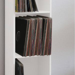 VCM Schallplatten-Regal Platto