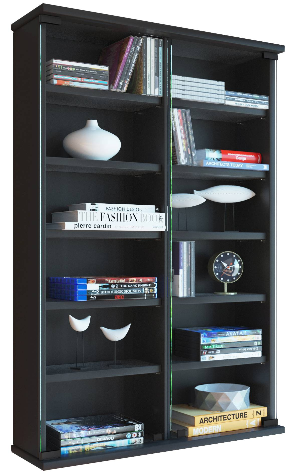vcm cd dvd wand regal zuntisa jetzt g nstig kaufen. Black Bedroom Furniture Sets. Home Design Ideas