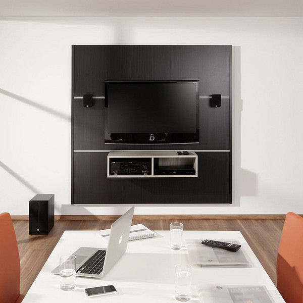 cinewall xs fernsehwand holz 120 cm breit hier g nstig kaufen. Black Bedroom Furniture Sets. Home Design Ideas